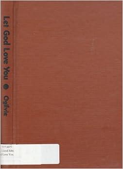 Book Let God love you