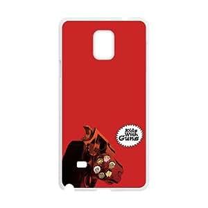 Gorillaz Kids With Guns Samsung Galaxy Note 4 Cell Phone Case White NiceGift pjz0035102654