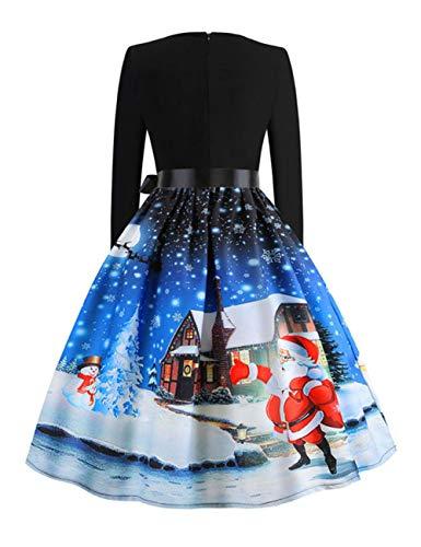 Noel Kawaii Rouge Ado Robes Robe Fille Grande Feelingirl Taille Noël Femme Sexy 5wP4xAq