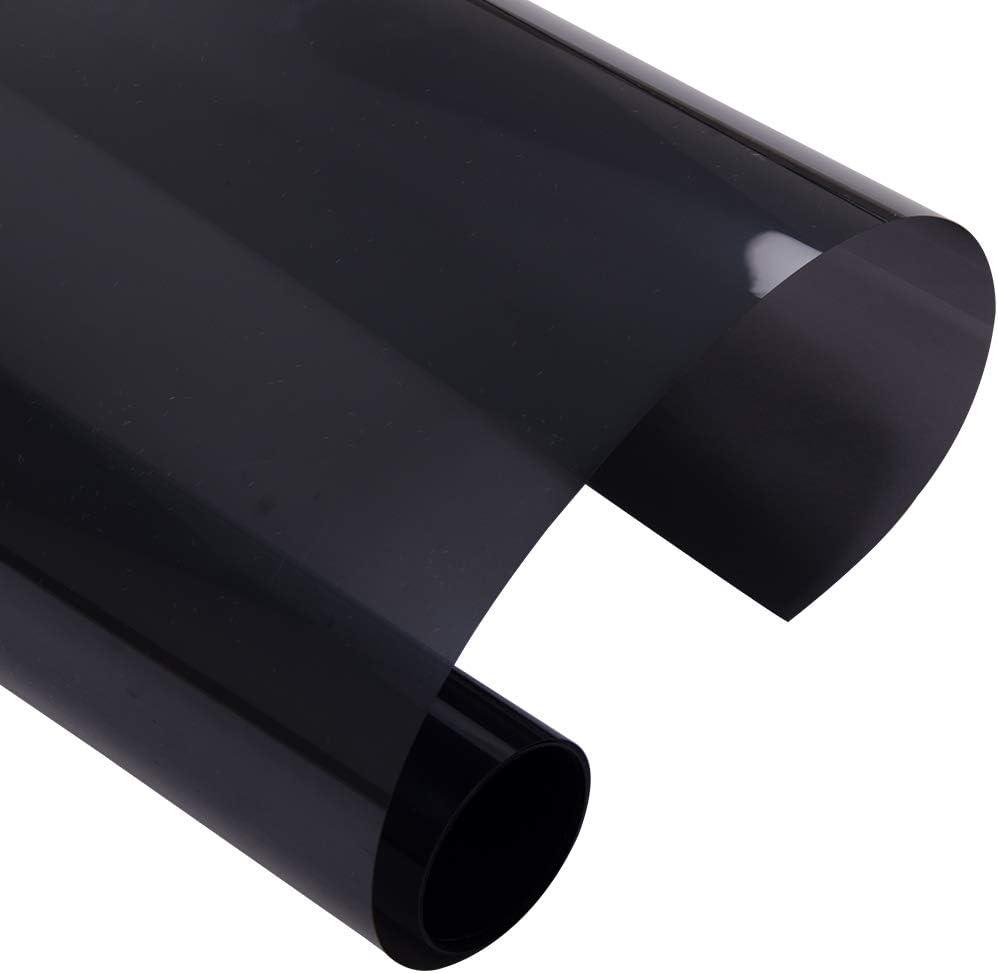 HOHOFILM 15/% VLT Window Tint Film 100/% UV Proof Nano Ceramic Tint for Car Side Rear Window Glass Sun Blocking Heat Rejection,152cmx1000cm