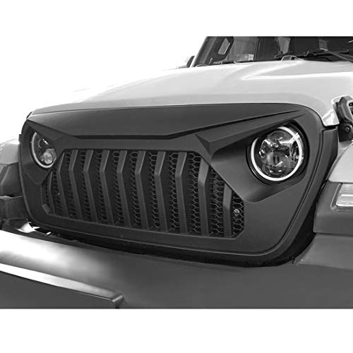 Extreme Off-Road Matte Black Vader Grille for Jeep Wrangler JL/JLU 2018-2019