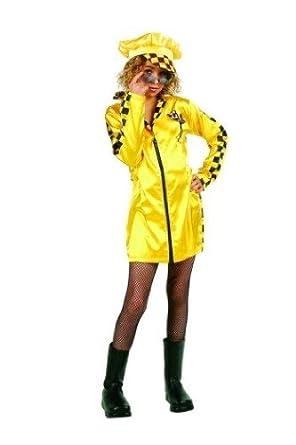 Disfraces RG 91420-M Media Speeder vestido preadolescente Costume - Amarillo