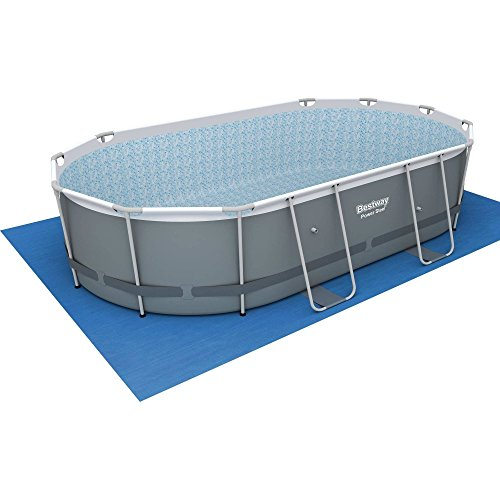 Power Steel 16 X 10 X 42 Quot Oval Frame Swimming Pool Set