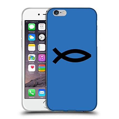 "GoGoMobile Coque de Protection TPU Silicone Case pour // Q08440608 Religion 8 Azur // Apple iPhone 6 PLUS 5.5"""