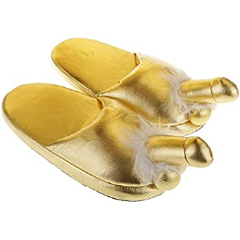 Generic Naughty Willy Willie Slippers Adult Novelty Fluffy Slippers Stag Hen Night