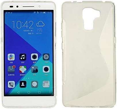 Para Huawei Honor 7 Funda de Gel TPU Silicona S-Line en ...