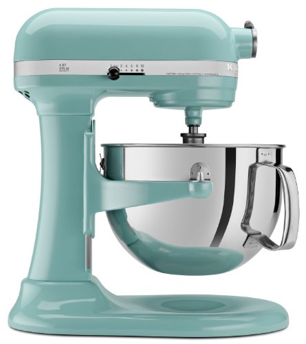 kitchen aid mixer aqua blue - 6