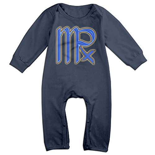 [VanillaBubble Virgo The Virgin For 6-24 Months Toddler Custom T Shirt Navy Size 12 Months] (Leo Johnson Costume)