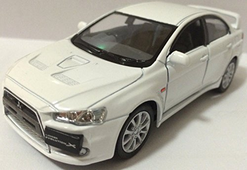 1:36 Scale 2008 Mitsubishi Lancer Evo Evolution X diecast CAR model (Eclipse 1 Motor)