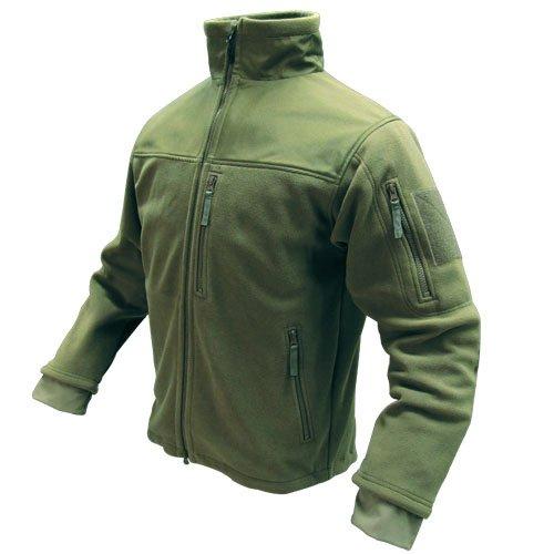 Condor Alpha Tactical Fleece Jacket (Small, Olive Drab)