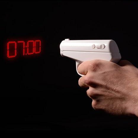 Thumbs up orologio sveglia agente segreto SECAGTALCLK