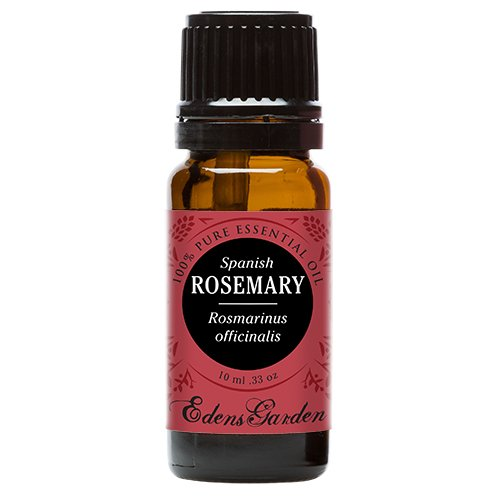 Rosemary (Spanish) 100% Pure Therapeutic Grade Essential Oil by Edens Garden- 10 ml