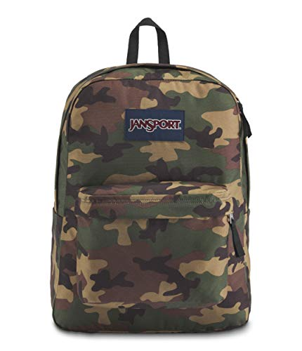 JanSport Superbreak Backpack Surplu Camo