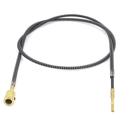 3.2ft Metal Flexible Shaft Cable for Bench Grinder Drill (Flexible Shaft Machine)