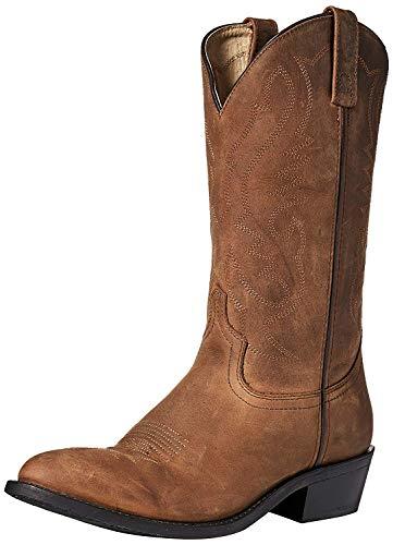 Smoky Mountain Mens Denver Boot 13EE Brown (Smoky Mountain Boots Mens Denver Leather Western Boot)