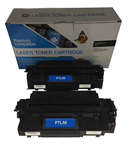 2 Compatible Black Cannon imageCLASS D760 L50 Printer Copy Ink Toner Cartridge Replacement for Canon L5O Image-Class D-760 All-in-one Multifunction Copier Machine 6812A001AA