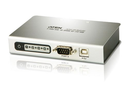 Aten Usb Serial - Aten Corp 4-p USB to Serial RS-232 Hub