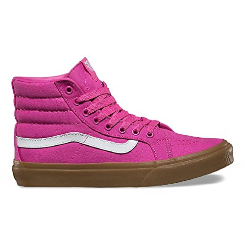 Top Light High Vans Shoe Slim Skateboarding Canvas Sk8 Gum Hi Light Gum Rose Rasberry raUcwXYvU1