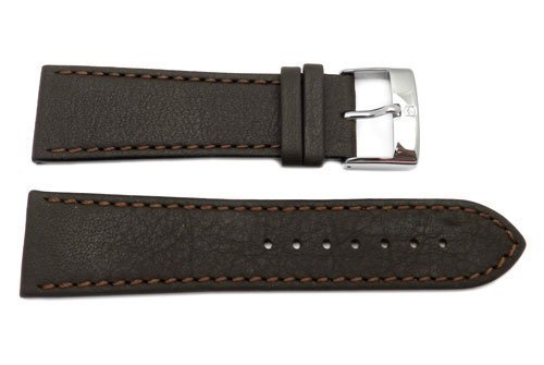 Swiss Army Infantry XL Self-Winding Leather 25mm Brown Watch Band