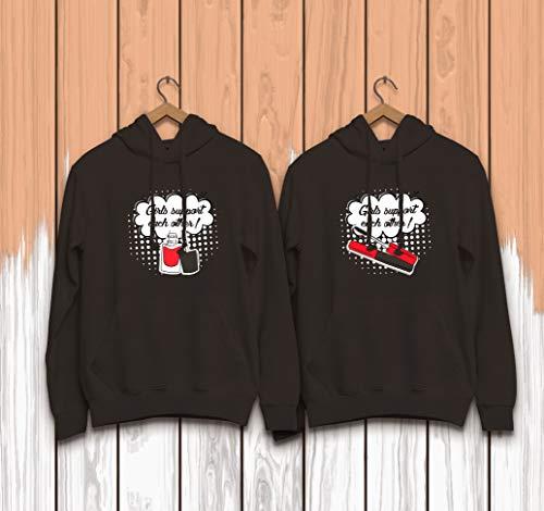 Support Other De Diseño Por Negro Each Mujer Sudaderas Vivamake® Mejores Set Con Girls Amigas 2 qgnCPP