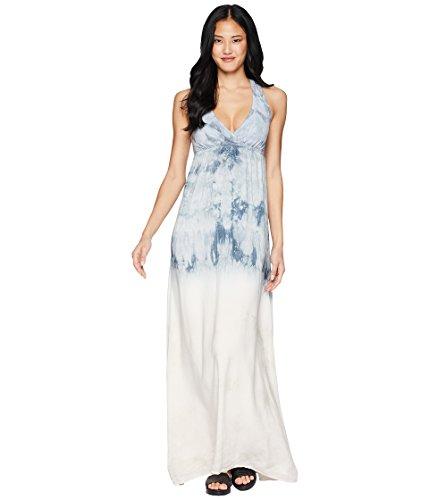 Hard Tail Women's Twisty Back Maxi Dress Crystal Dip-Dye 2 Small Dip Dye Maxi Dress