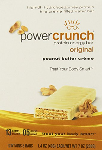 (Power Crunch Protein Energy Bar Peanut Butter Creme - 1.4 Ounce Bars, 5 Count)