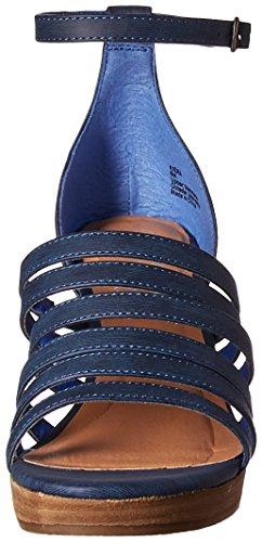 Women's Coconuts by Kiera Matisse Sandal Wedge Blue W0xWvRPqwp