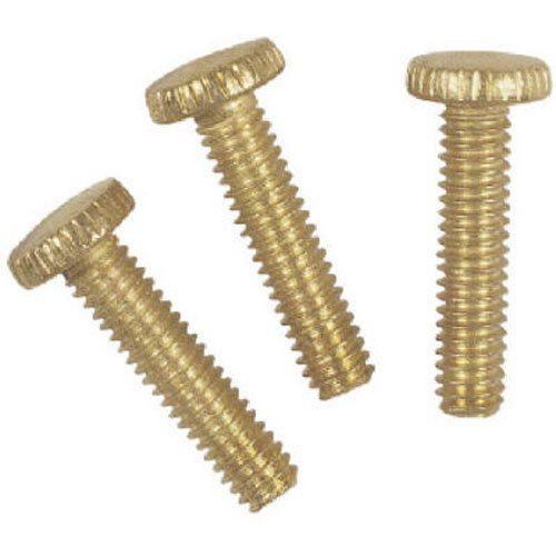 Fixture Screws - Westinghouse Lighting Corp 70634 Knurled Head Screw, 3-Pack