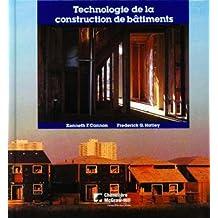 Technologie de la construction de bâtiments