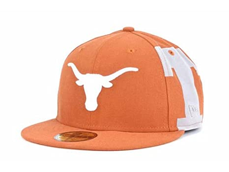 huge selection of 23624 03fc2 ... spain texas longhorns fitted size 7 3 8 hat new era 5950 cap ncaa  authentic 1b459