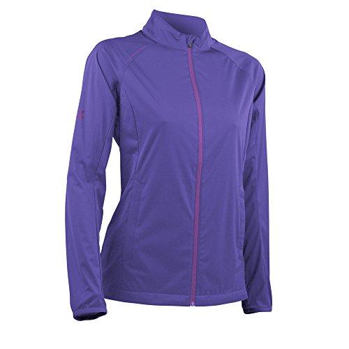 Sun Mountain Zephyr LT Golf Jacket 2018 Women Iris/Amethyst Medium ()