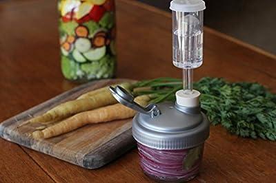 FARMcurious - Mason Jar Fermenting Kit - Mold Free - 2 pack