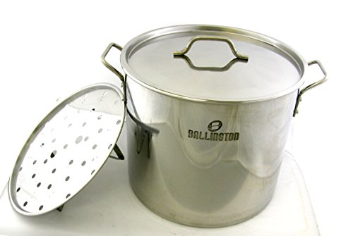 52 QT Quart 13 Gallon Stainless Steel Stock Tamale Steamer P