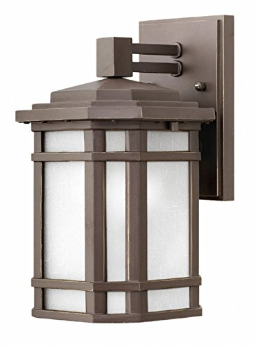 (Outdoor Cherry Creek Small Wall Mount in Oil Rubbed Bronze )