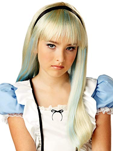 Alice In Wonderland Childrens Costumes (Alice in Wonderland Child Wig)