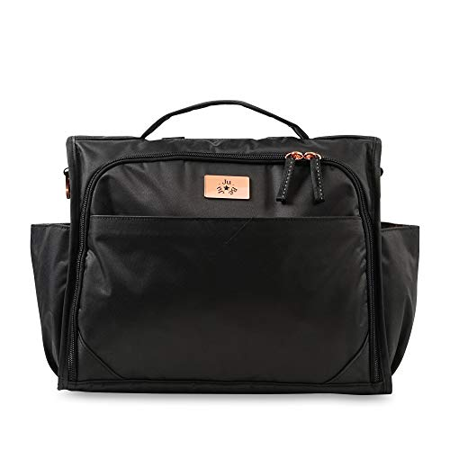 JuJuBe Limited Edition Classical Convertible Diaper Bag – Black Rose