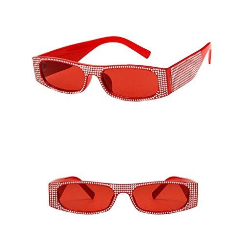 Remache rectangulares Sol Perlas de Hunpta de F Gafas para con Delete Verano FOwa1aXq