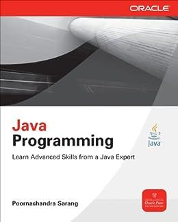 Java Programming (Oracle Press) by [Sarang, Poornachandra]