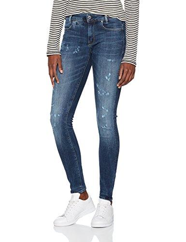 G Raw Skinny Donna Aged Blu medium star Restored Jeans zqrRw4zp