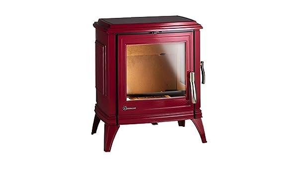 Estufa Invicta SEDAN 10 esmaltada roja: Amazon.es: Bricolaje y herramientas