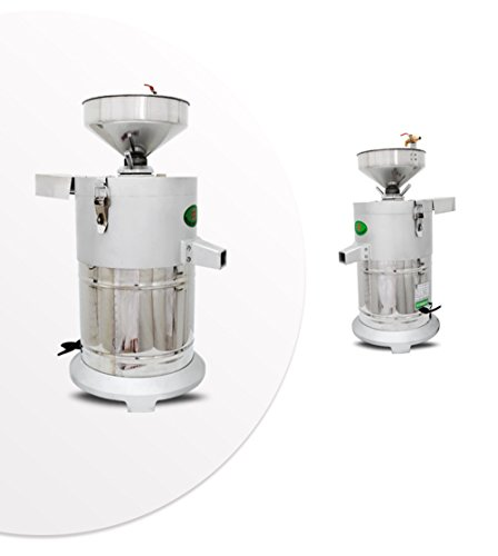Commercial aluminum alloy Healthy Nutrition Soymilk Maker Commercial large Soymilk Maker Soybean Milk machine Electric fiberizer Automatic Soya Milk and Dregs separater Splitter 150kg/h by CGOLDENWALL (Image #2)'