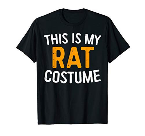 Rat Man Costumes - This Is My Rat Costume T-Shirt