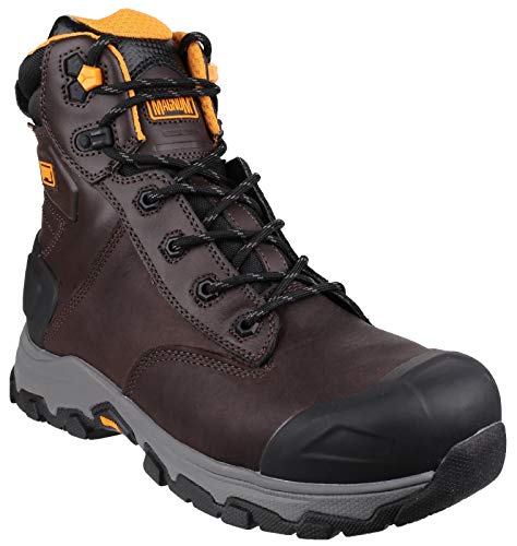 Hi Tec Magnum - Magnum Hamburg 6.0 Waterproof Work Boots - 7 - Brown