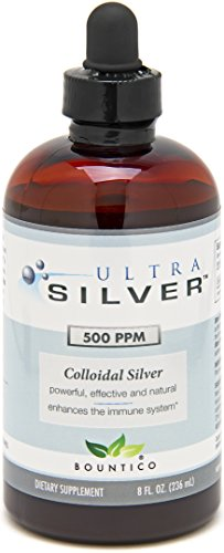 Ultra Silver Colloidal Silver 500 PPM - 8 Oz