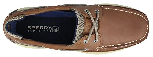 Sperry Top-Sider Mens Lanyard Dark Tan/Navy