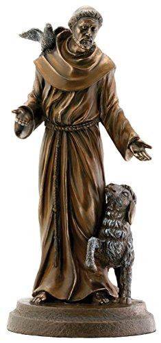 Francis Bronze Religious Christian Catholic