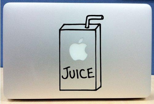 Apple Juice Box – Vinyl Macbook / Laptop Decal Sticker Graphic, Best Gadgets