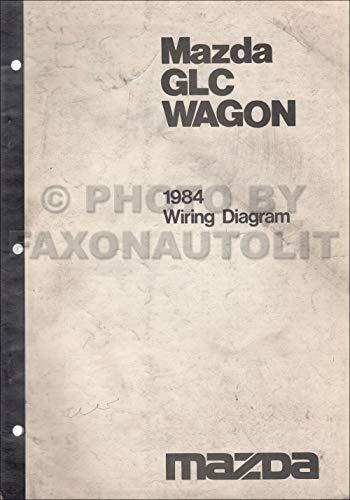 1984 Mazda GLC Wagon Wiring Diagram Manual Original ()