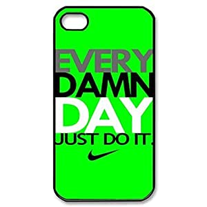 SUUER Green-Every Damn Day sport Personalized Custom Plastic Hard CASE for iPhone 5 5s Durable Case Cover
