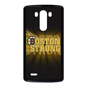 Boston Bruins LG G3 Cell Phone Case Black AMS0694976